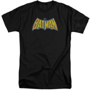 DCO Batman Neon Distress Logo Mens Big and Tall Shirt