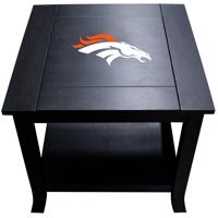 Denver Broncos Side Table - Black - No Size
