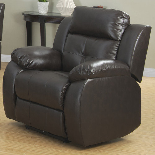 AC Pacific Troy Transitional Glider Reclining Arm Chair