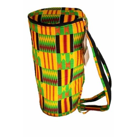 African Kente Cloth Djembe Drum Bag - Mini 9