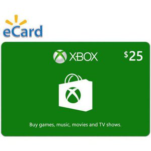 Xbox Digital Gift Card $25