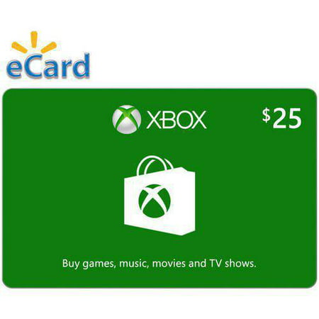 xbox digital gift card 25 microsoft