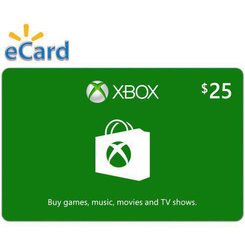 Xbox Digital Gift Card $25 Microsoft