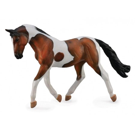 Breyer CollectA Series Bay Pinto Mare Model Horse - Breyer Halloween Series