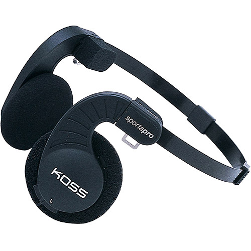 Koss Stereophones With Flexible Headband Design