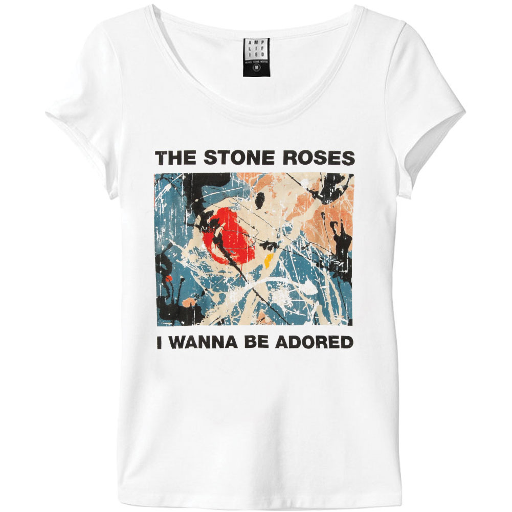 Stone Roses  I Wanna Be Adored Girls Jr White