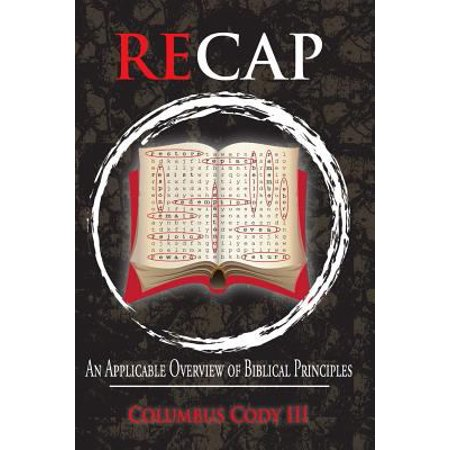 Recap  An Applicable Overview Of Biblical Principles