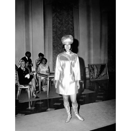 Pucci Air (Emilio Pucci Ensemble Influenced By His Futuristic Stewardess Designs For Braniff International Airways July 1967 Csu ArchivesEverett Collection History)