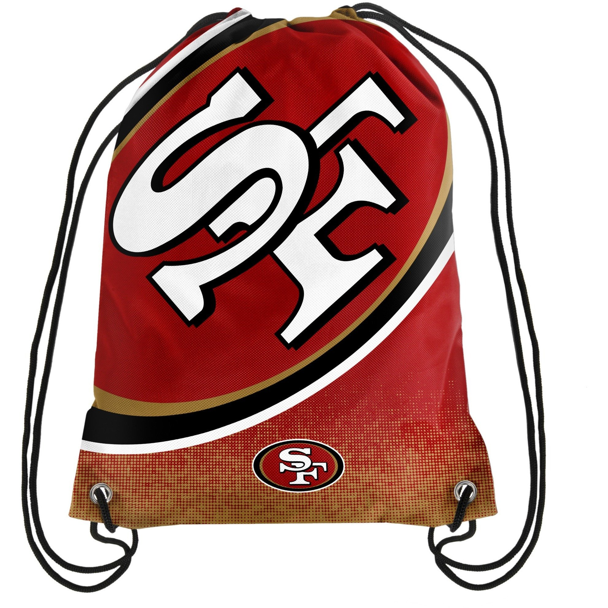 San Francisco 49ers NFL Gradient Drawstring Backpack