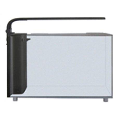 Jbj Lighting - JBJ Rimless Desktop 6 Gallon Curved Glass Aquarium w/ LED Light (RL-6-CP)
