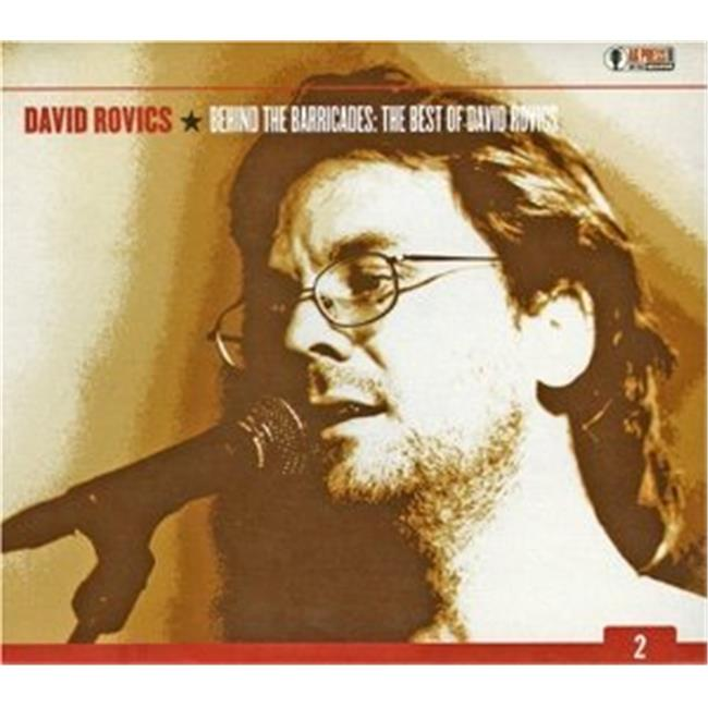 Image of AK Press AKA-038-CD David Rovics- Behind the Barricades- The Best of David Rovics