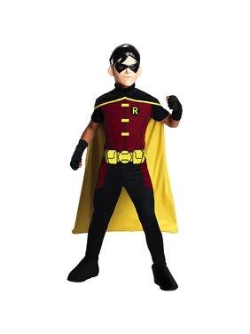 Young Justice Robin Child Halloween Costume