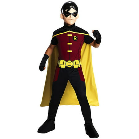 Young Justice Robin Child Halloween Costume - Diy Robin Girl Costume