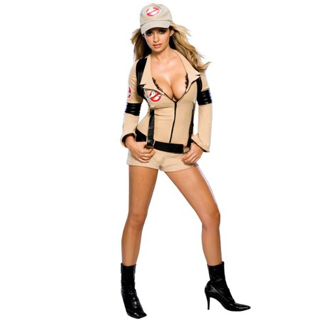 Women's Sexy Ghostbusters Costume](Ghostbuster Costume Adult)