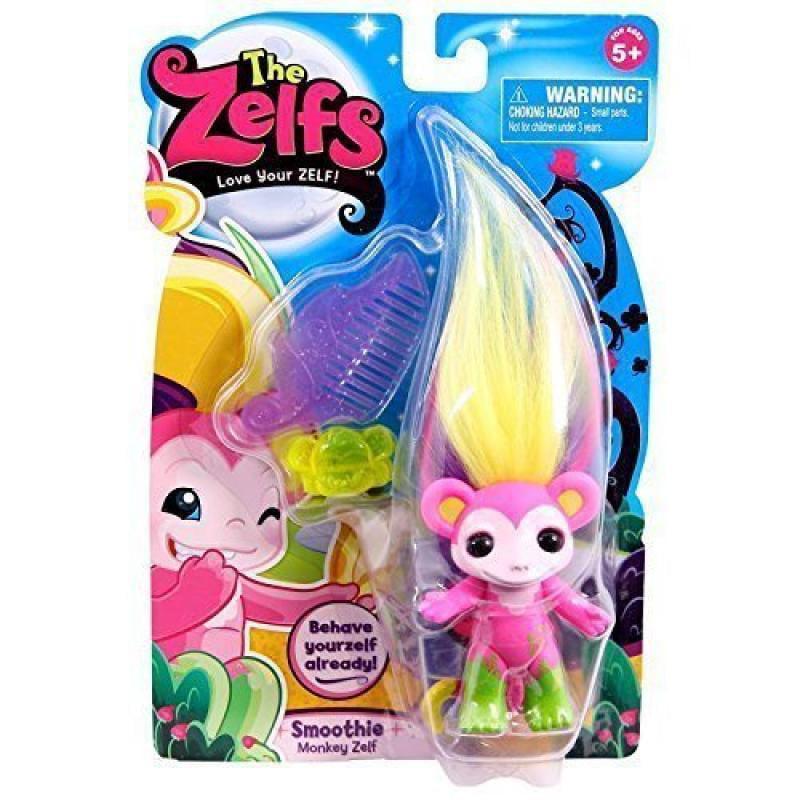Moose The Zelfs, Series 4 Medium Doll, Smoothie (Monkey Z...