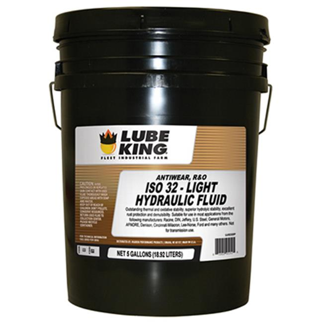 Lube King LU52325P 5 Gallon, Pail AW ISO 32 Hydraulic Fluid