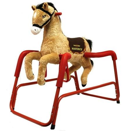 Rockin` Rider Maverick Spring Horse