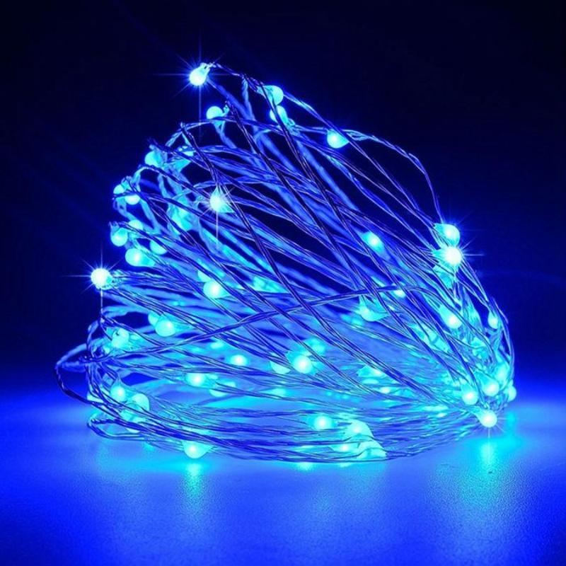 BalsaCircle 6 feet 20 LED Fairy Lights Garland - Wedding Party Event Home Centerpieces Backdrop Decorations Supply