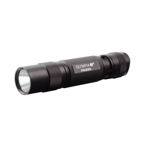 Olympia 220-Lumen AD Series High-Performance LED Flashlight by Olympia