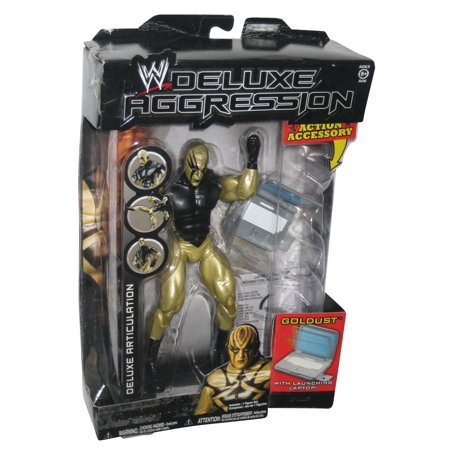 WWE Deluxe Aggression Series 21 Goldust WWF Jakks Pacific Figure ()