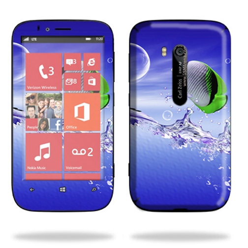 Mightyskins Protective Skin Decal Cover for Nokia Lumia 822 Cell Phone T-Mobile wrap sticker skins Tropical