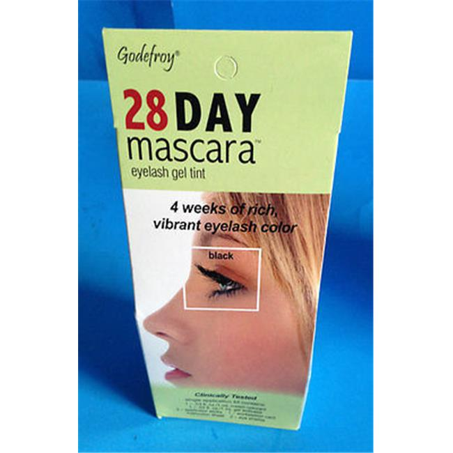 Godefroy R59 28 Day Permanent Eyelash Tint Mascara - Single Application, Black