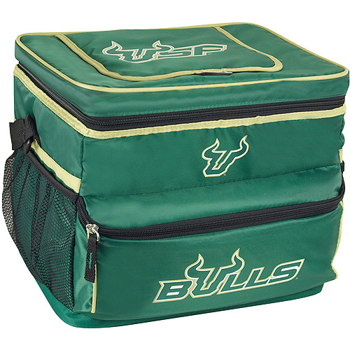 NCAA University Of South Florida 18-Can Cooler with Removable Hardliner