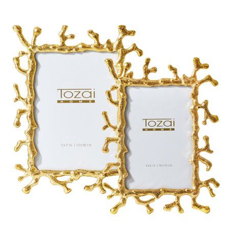 Passport Collection Coral Picture Frame - Set of 2 - Walmart.com