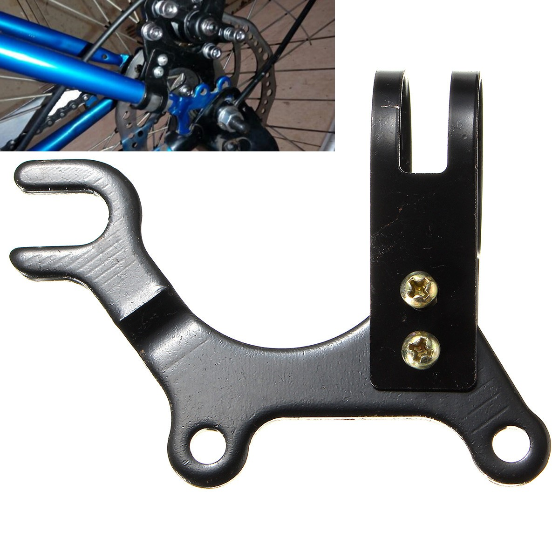 Bike Disc Brake Bracket Frame Adaptor Rotor Bicycle Mounting Holder MTB Tool USA
