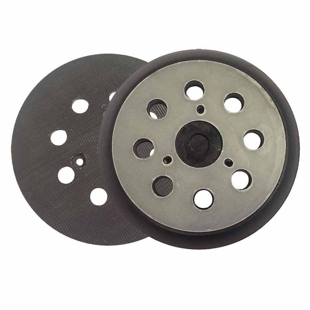 """Superior Pads and Abrasives RSP27 - 5"""" Dia - 8 Hole Sander Hook and Loop Pad Replaces Makita OE # 743081-8, 743051-7 Hitachi OE # 324-209"""