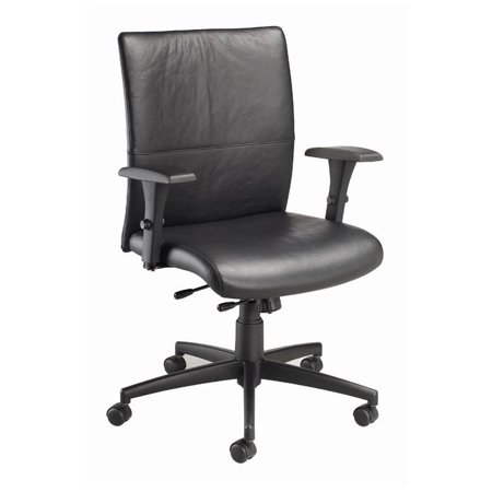 Nightingale Executive Chair Black Leather Black Product Picture