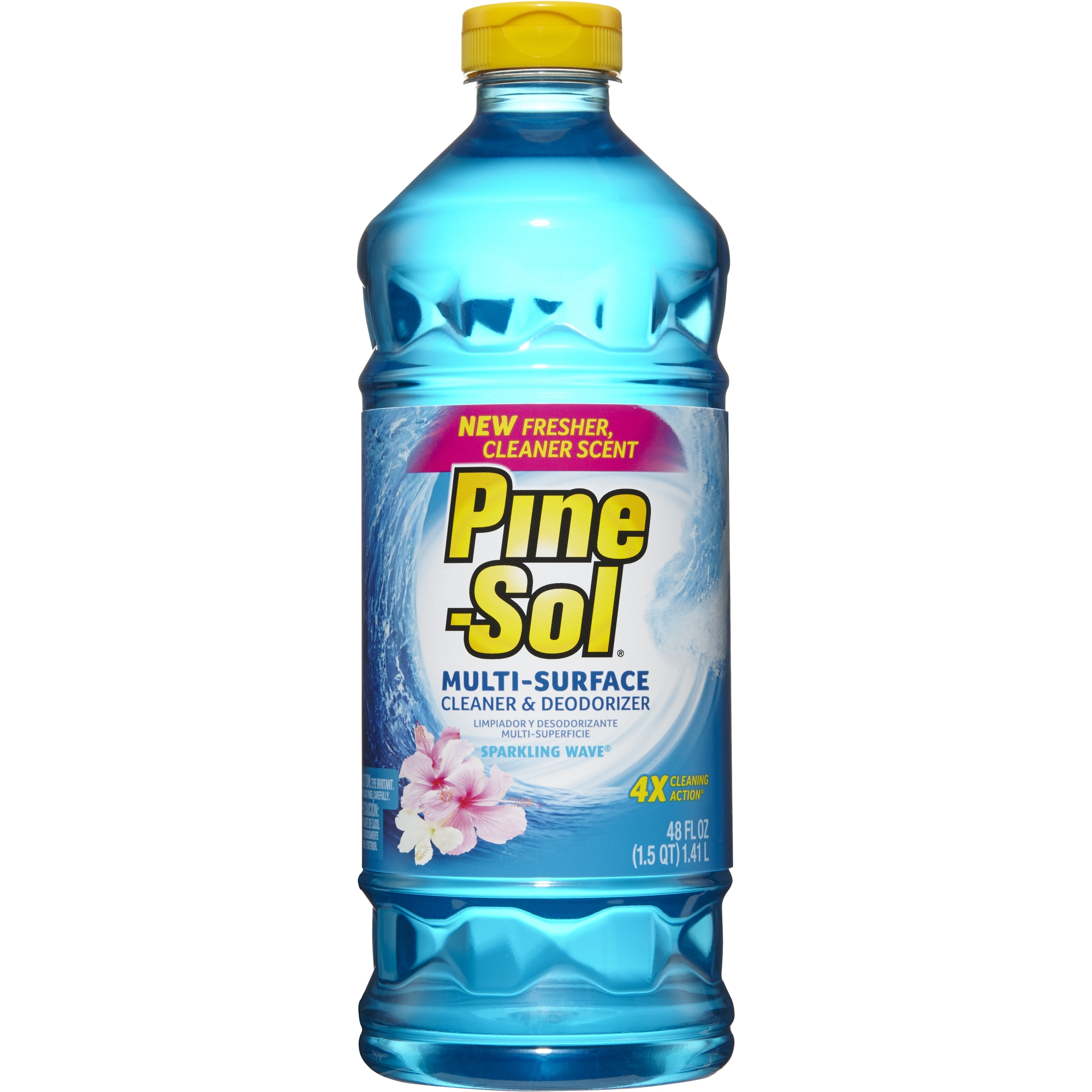Pine-Sol All Purpose Cleaner, Sparkling Wave, 48 oz Bottle