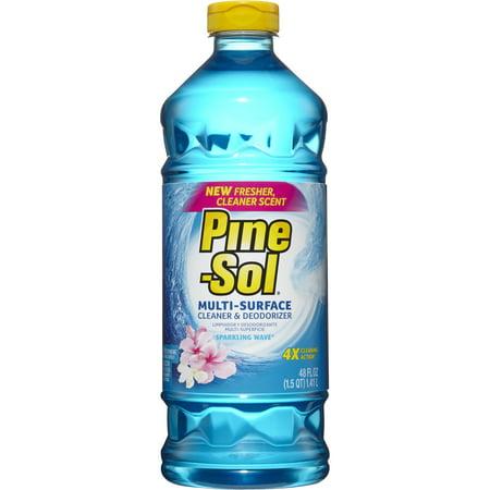 Pine-Sol All Purpose Cleaner, Sparkling Wave, 48 oz Bottle