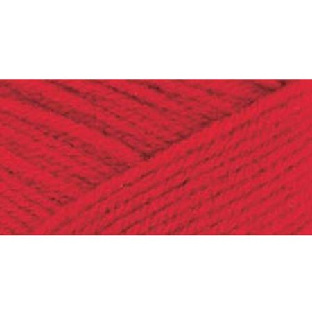 Red Sequin Heart - Red Heart Classic Yarn