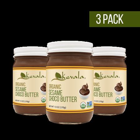 Organic Sesame Butter - (3 pack) Kevala Organic Sesame Choco Butter