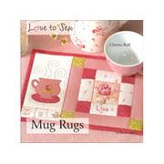 Search Press Love to Sew Mug Rugs Bk