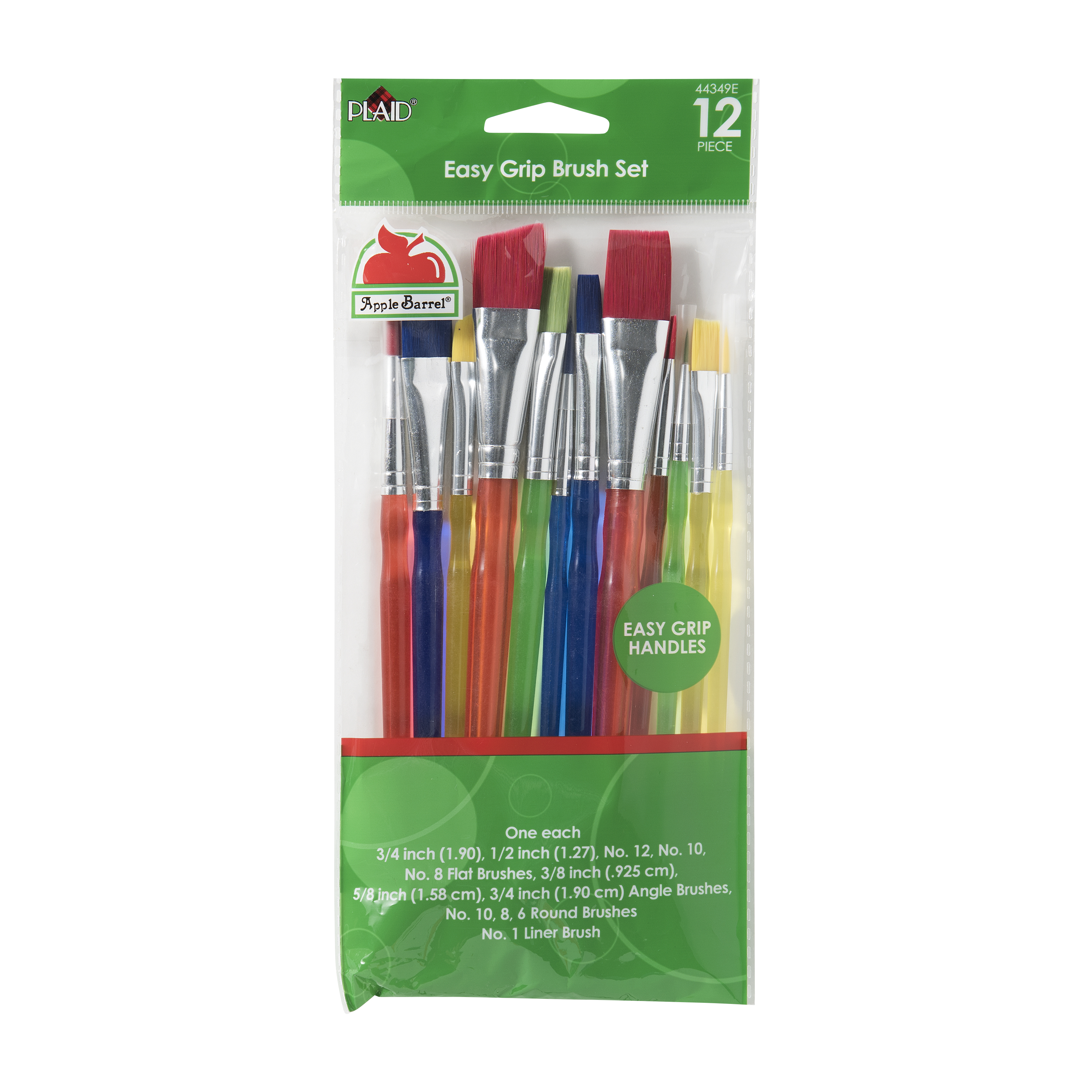 Apple Barrel 12Pc Assorted Brush Set