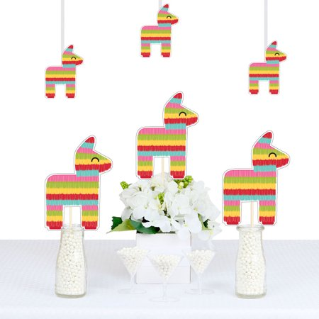 Let's Fiesta - Pinata Decorations DIY Mexican Fiesta Party Essentials - Set of 20 - Diy Pinata Halloween