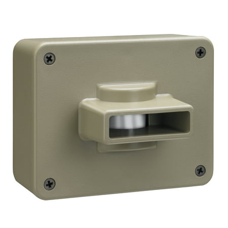 Chamberlain CWPIR Wireless Motion Alert Add On (Wireless Outdoor Motion Sensor With Indoor Alert)