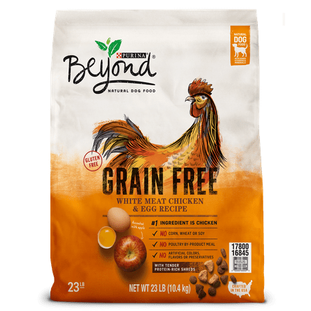 Bites Dry Food - Purina Beyond Grain Free White Meat Chicken & Egg Recipe Adult Dry Dog Food - 23 lb. Bag