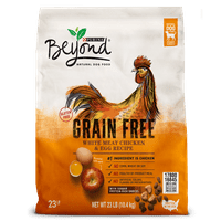 Purina Beyond Grain Free White Meat Chicken & Egg Recipe Adult Dry Dog Food - 23 lb. Bag