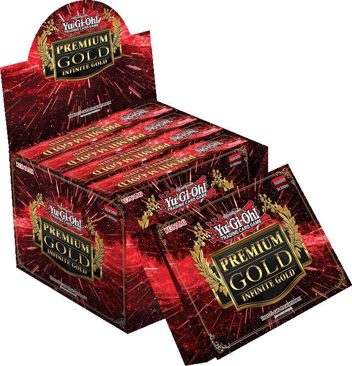 Yu-Gi-Oh Premium Gold: Infinite Gold Display Box [5 Mini Boxes]