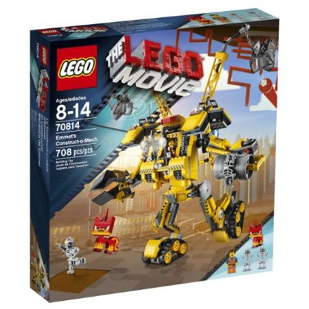 LEGO Movie 70814 Emmet's Construct-o-Mech Building Set(Discontinued by manufacturer) (70814 Lego Movie)