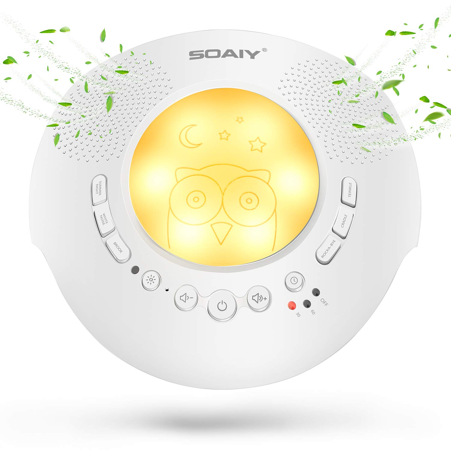 Soaiy White Noise Machine Portable Noise Sound Machine