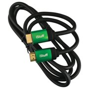 Audiopipe IHD300GR6 Istuff 6' Premium Metallic Hdmi Cable Green