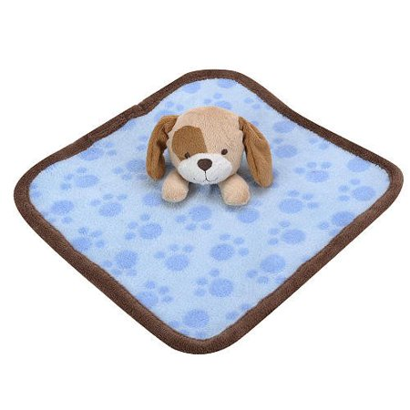 Baby Boys Plush Puppy Dog Security Blanket Walmart Com