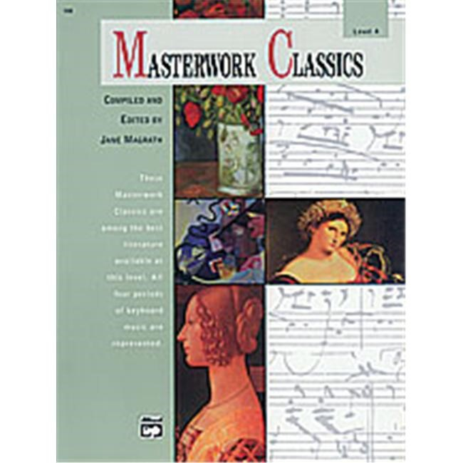 Alfred 00-168 Masterwork Classics- Level 4 - Music Book