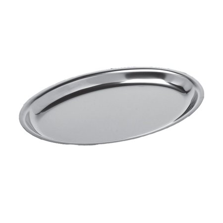 Service Ideas RO128SS Thermo-Plate S/S Oval Platter - Thanksgiving Fruit Platter Ideas