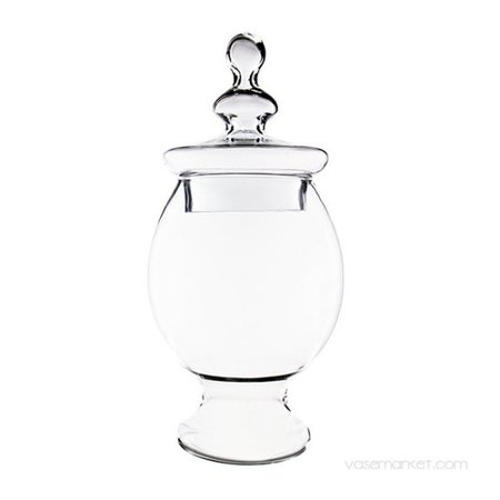 Candy Buffet Glass Jars (CYS-Excel Glass Candy Buffet Apothecary Jar (Set of)