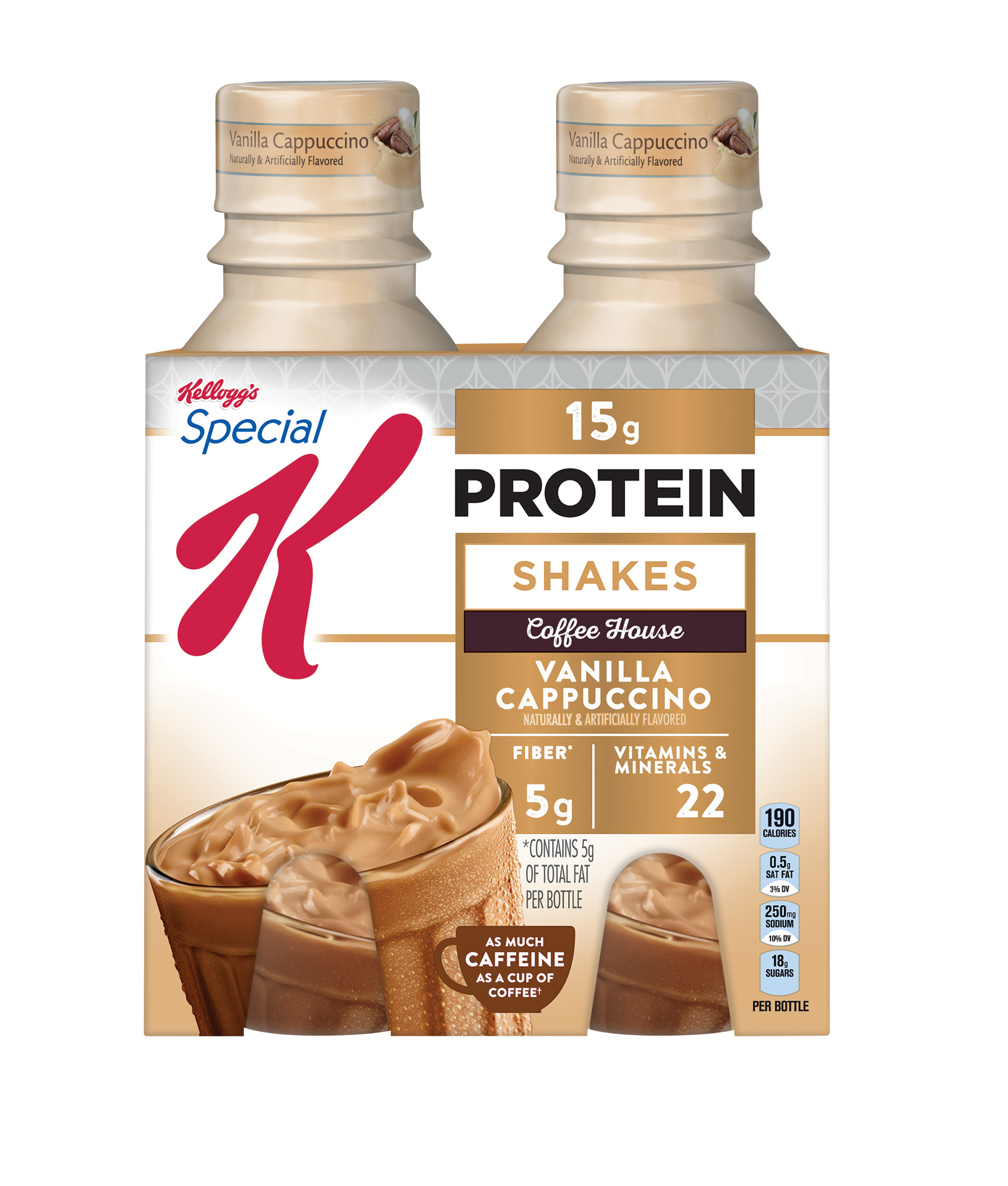 Kellogg's Special K Protein Vanilla Cappuccino Cafe-Inspired ...